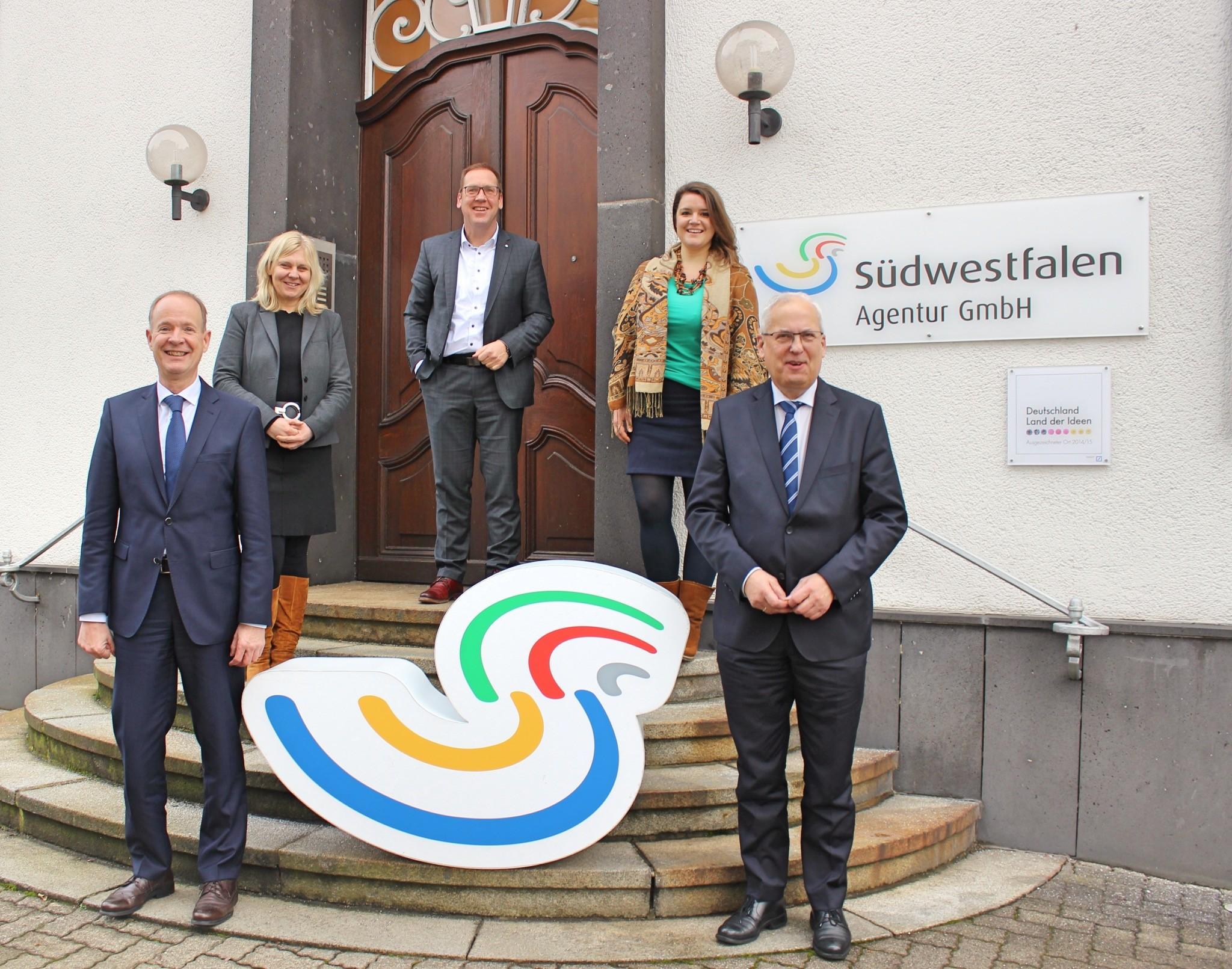 Neuer Aufsichtsratsvorsitzender in der Südwestfalen Agentur in Olpe