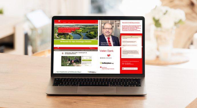 WirWunder Nachbericht - Spendenplattform  Sparkasse Olpe