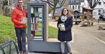 Bücherschrank im Weierhohl