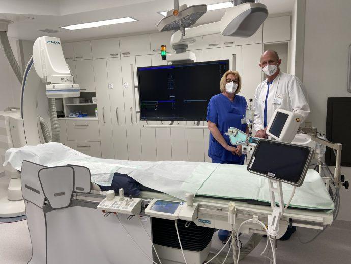 Herzkatheterlabor - Krankenhaus Olpe