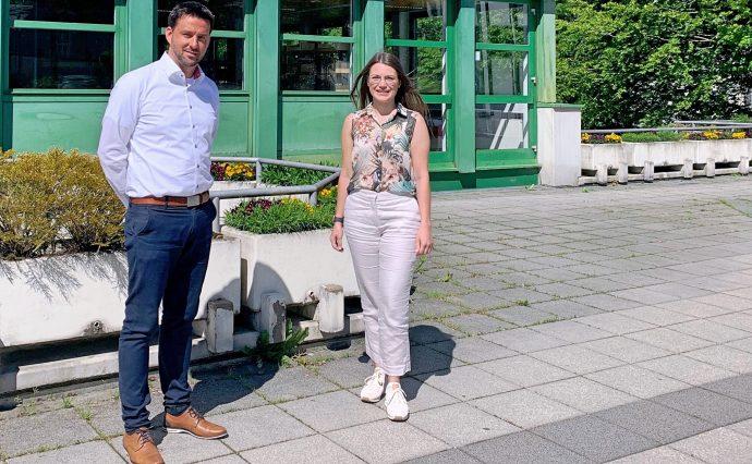 Torsten Kaufmann und Klarissa Hoffmann - Stadt Olpe