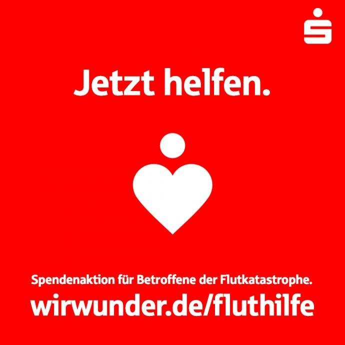 Sparkasse Fluthilfe