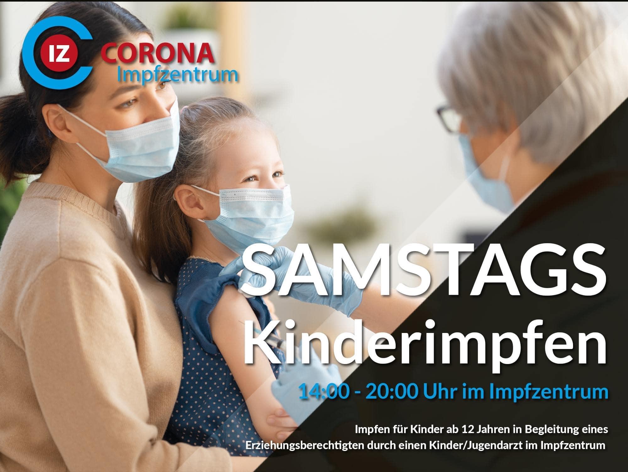 Neue Öffnungszeiten und Impfangebot für Kinder ab 12 im Impfzentrum