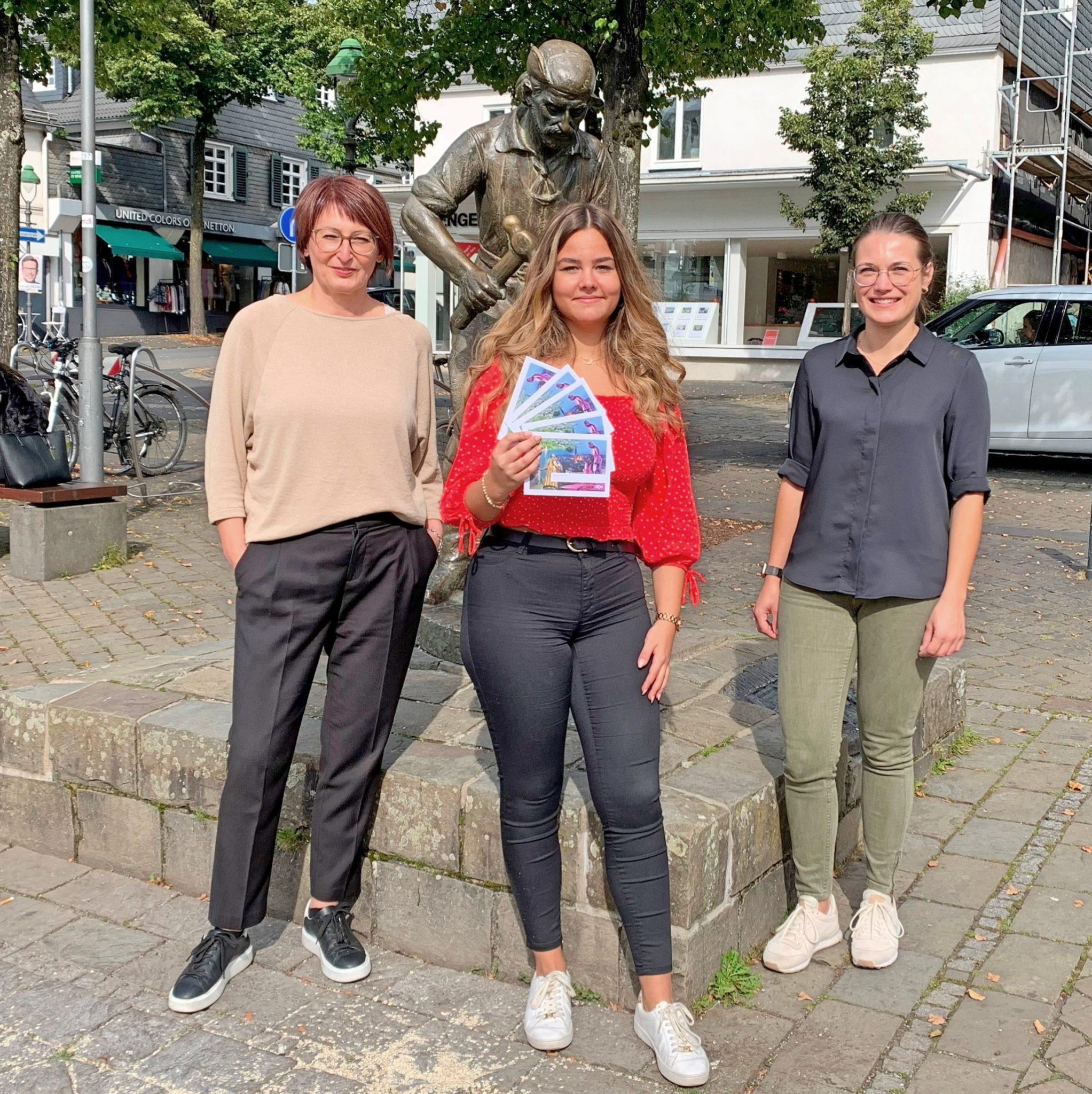 Spendenaktion des Jugendparlaments Olpe