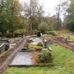 Bauarbeiten Friedhof Olpe-Sondern