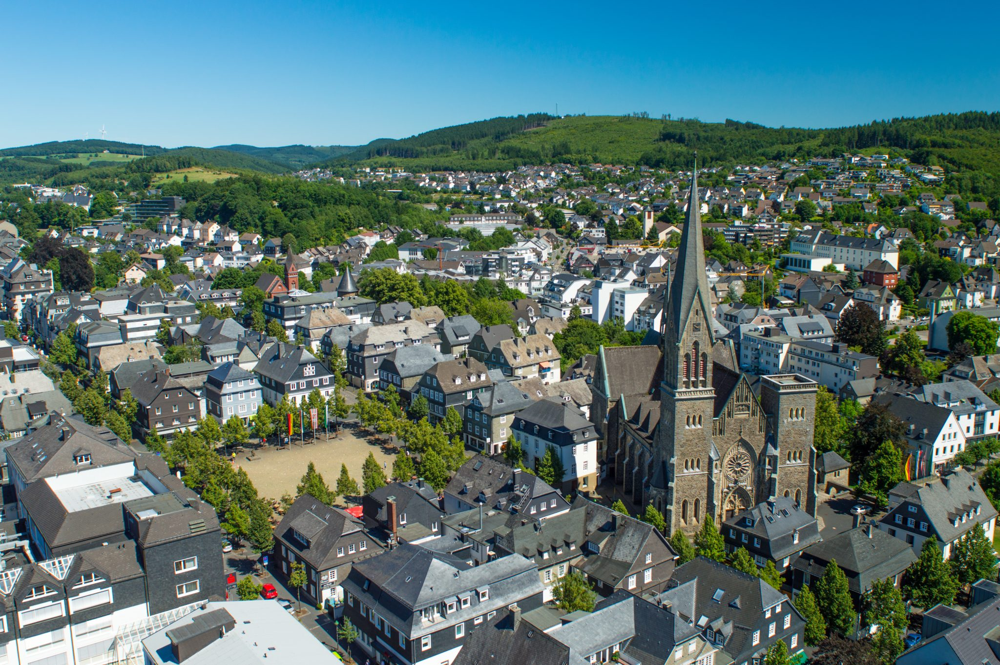 Olpe auf Platz 25 beim Ranking der erfolgreichsten mittelgroßen Städte Deutschlands